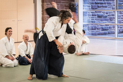 Floating Bridge Aikido and Tai Chi classes